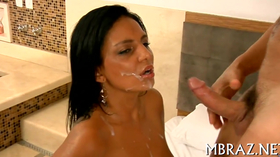 Busty brazilian whore gets rammed