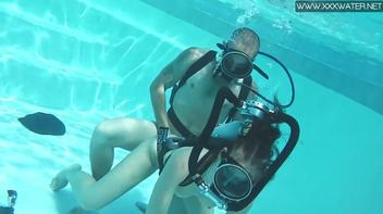 Fantasia sexual de baixo d'agua
