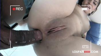 Sexo anal da ninfeta mais gostosa do Brasil