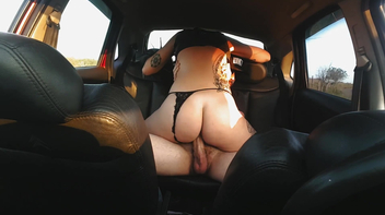 Sexo no carro com a Dread Hot