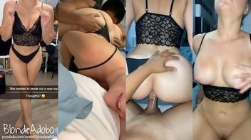 Sexo com esposa safada que adora ser filmada